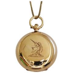 Victorian 9 Karat Gold Sovereign Case
