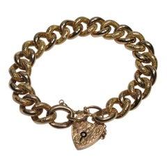 Victorian 9 Carat Rose Gold Bracelet