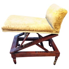 Victorian Adjustable Gout Stool