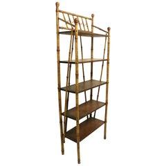 Victorian Aesthetic Movement Bamboo Étagère Shelf