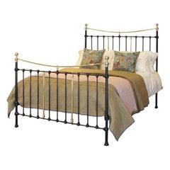 Victorian Antique Bed Black MK228