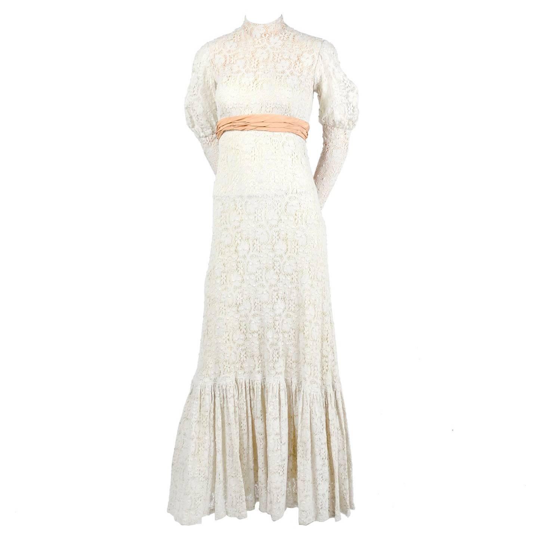 High Neck Victorian Dresses