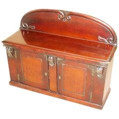 Victorian Antique Mahogany Miniature Chiffonier