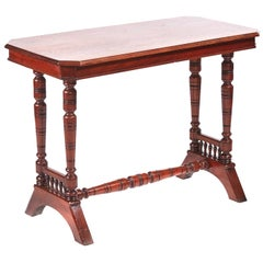 Victorian Antique Walnut Centre Table