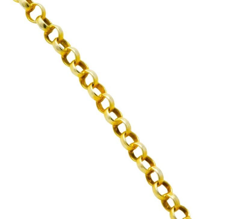 Victorian Aquamarine Amethyst 12 Karat Gold Fringe Necklace For Sale 2