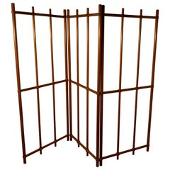 Victorian Arts & Crafts Pitch Pine Room Divider