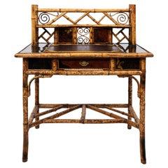 Victorian Bamboo Desk