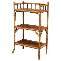 Victorian Bamboo Stand - Etagere