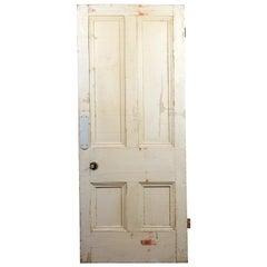 Victorian Beaded Four Panel Door, 20th Century