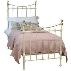 Victorian Bed in Cream