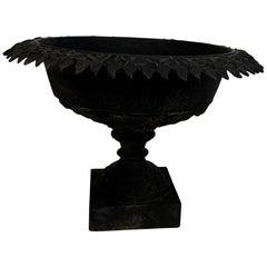 Victorian Black Cast Iron Jardinière/Planter