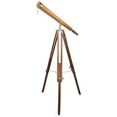 Victorian Brass Telescope