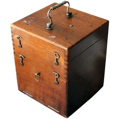 Victorian Campaign Style Induction Coil Electro Therapy Shock Machine