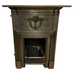 Victorian Cast-Iron Bedroom Fireplace