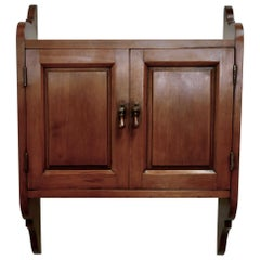 Victorian Cherrywood Bathroom Cupboard