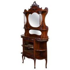 Victorian Chiffonier Side Cabinet