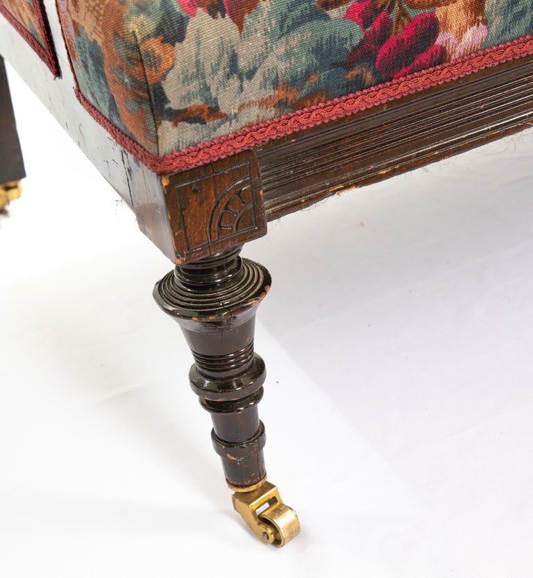 American Victorian Childs Settee For Sale