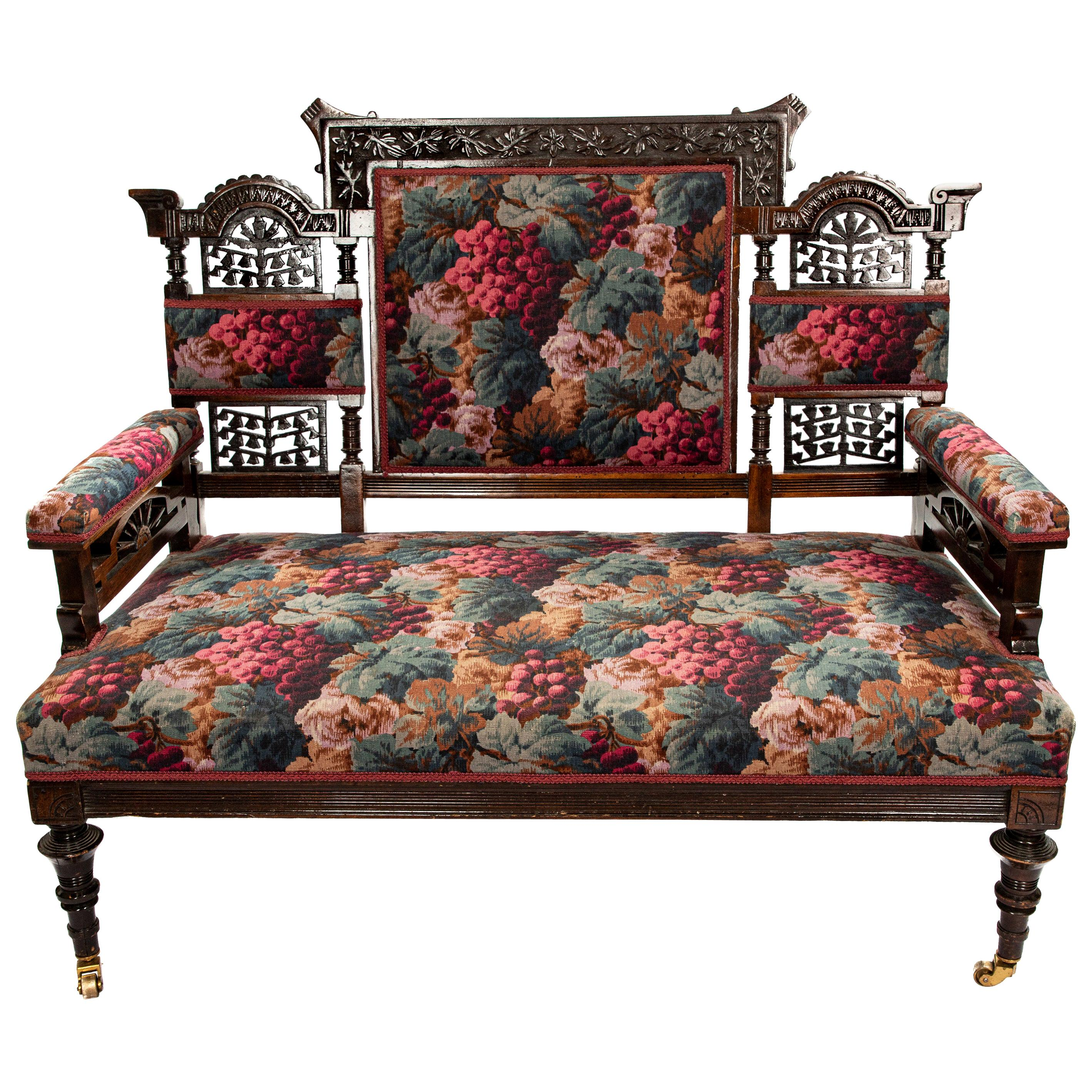 Victorian Childs Settee