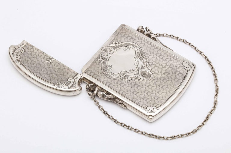 Victorian Coin Silver '.900' Calling Card/Business Card Holder by Gorham 4