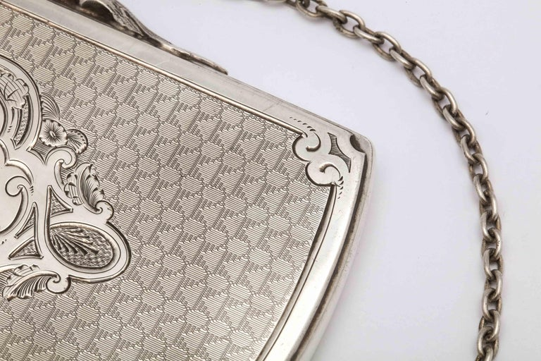 Victorian Coin Silver '.900' Calling Card/Business Card Holder by Gorham 9