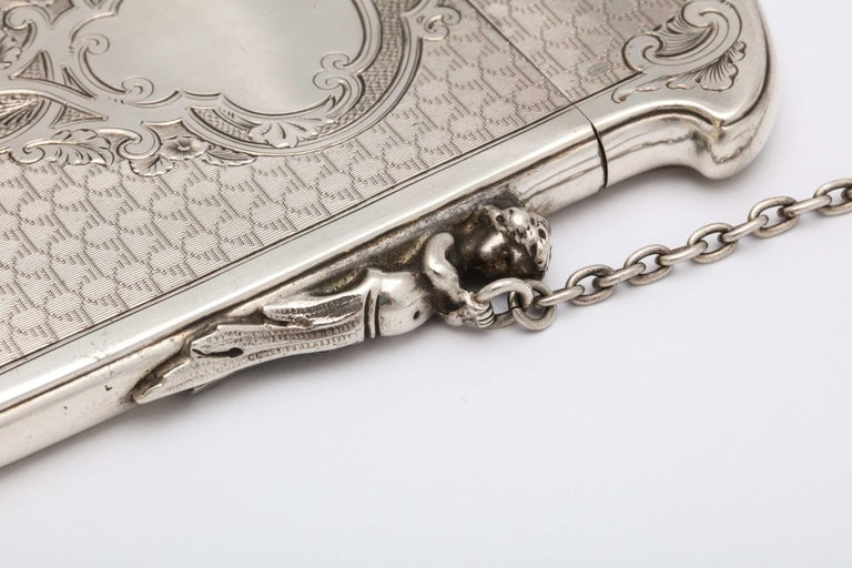 Sterling Silver Victorian Coin Silver '.900' Calling Card/Business Card Holder by Gorham