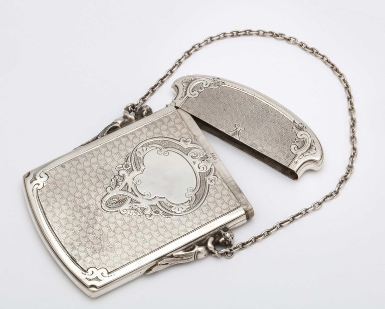 Victorian Coin Silver '.900' Calling Card/Business Card Holder by Gorham 1