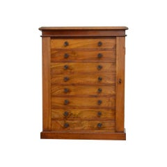Victorian Collectors Cabinet in Walnut