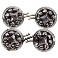 Victorian Cut Steel Cufflinks Are the Unicorns of Cufflinks