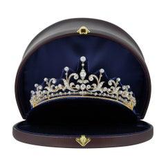 Victorian Diamond-Set Tiara