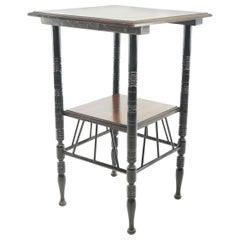 Victorian E W Godwin Mahogany 19th Century Side Coffee Table
