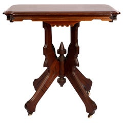 Victorian Eastlake Parlor Table