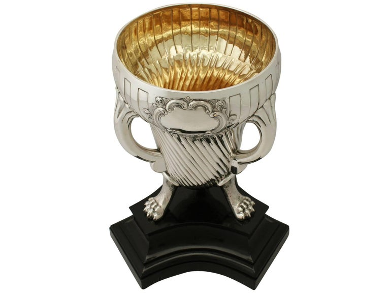 Victorian English Sterling Silver Champagne Cup In Excellent Condition For Sale In Jesmond, Newcastle Upon Tyne