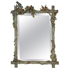 Victorian Faux Bois Mirror