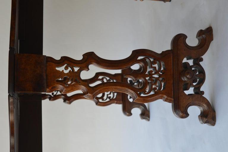 Victorian Figured Walnut Sutherland Table For Sale 7