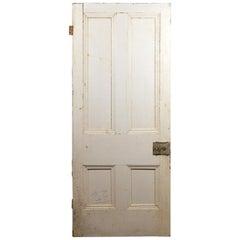 Victorian Four Beaded Panel Door, 20th Century