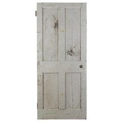 Victorian Four Panel Interior Door, 20th Century