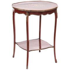 Victorian French Marquetry Inlaid Centre Table