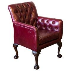 Victorian Gentleman's Library Armchair