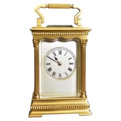 Victorian Gilded Striking Carriage Clock