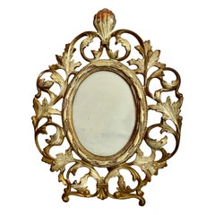 Gilt and Patinated Victorian Photo Frame