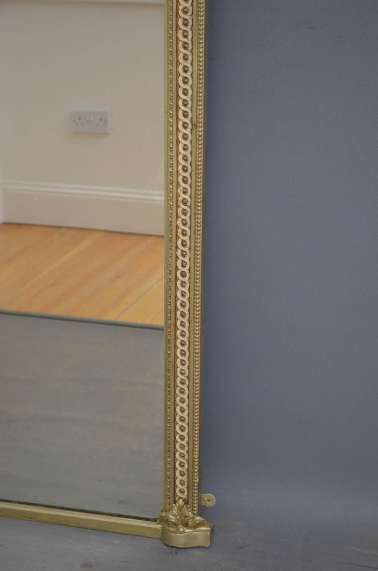 Victorian Giltwood Pier Mirror For Sale 4