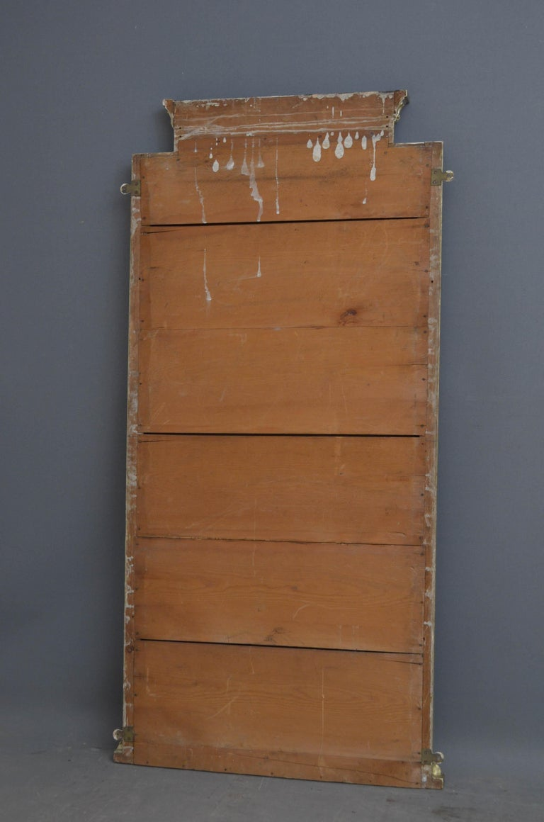 Victorian Giltwood Pier Mirror For Sale 5