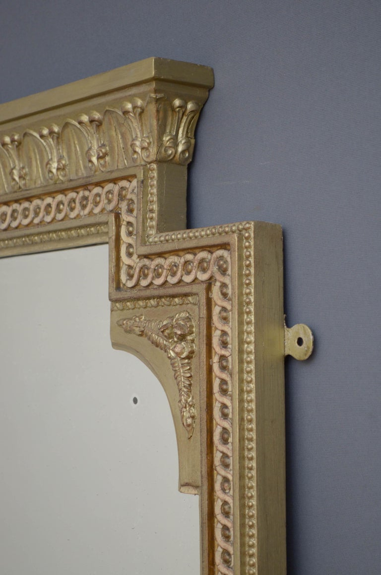 Victorian Giltwood Pier Mirror For Sale 3