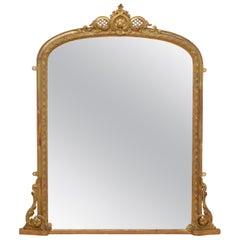 Victorian Giltwood Wall Mirror