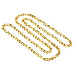 Victorian Gold Belcher Link Guard Chain