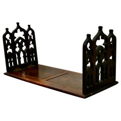 Victorian Gothic Folding Extending Bookend Slide
