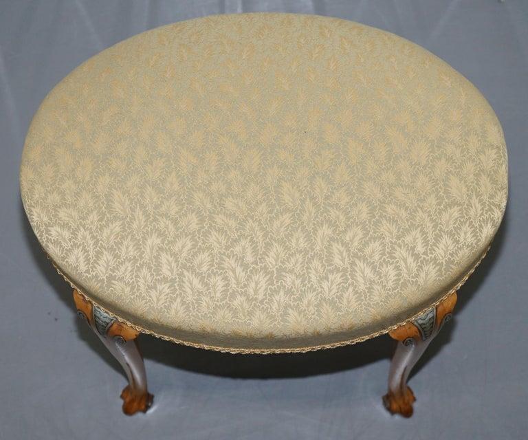 Victorian Hampton & Son's Satinwood Bedroom Suite Wardrobe Dressing Table Mirror For Sale 14