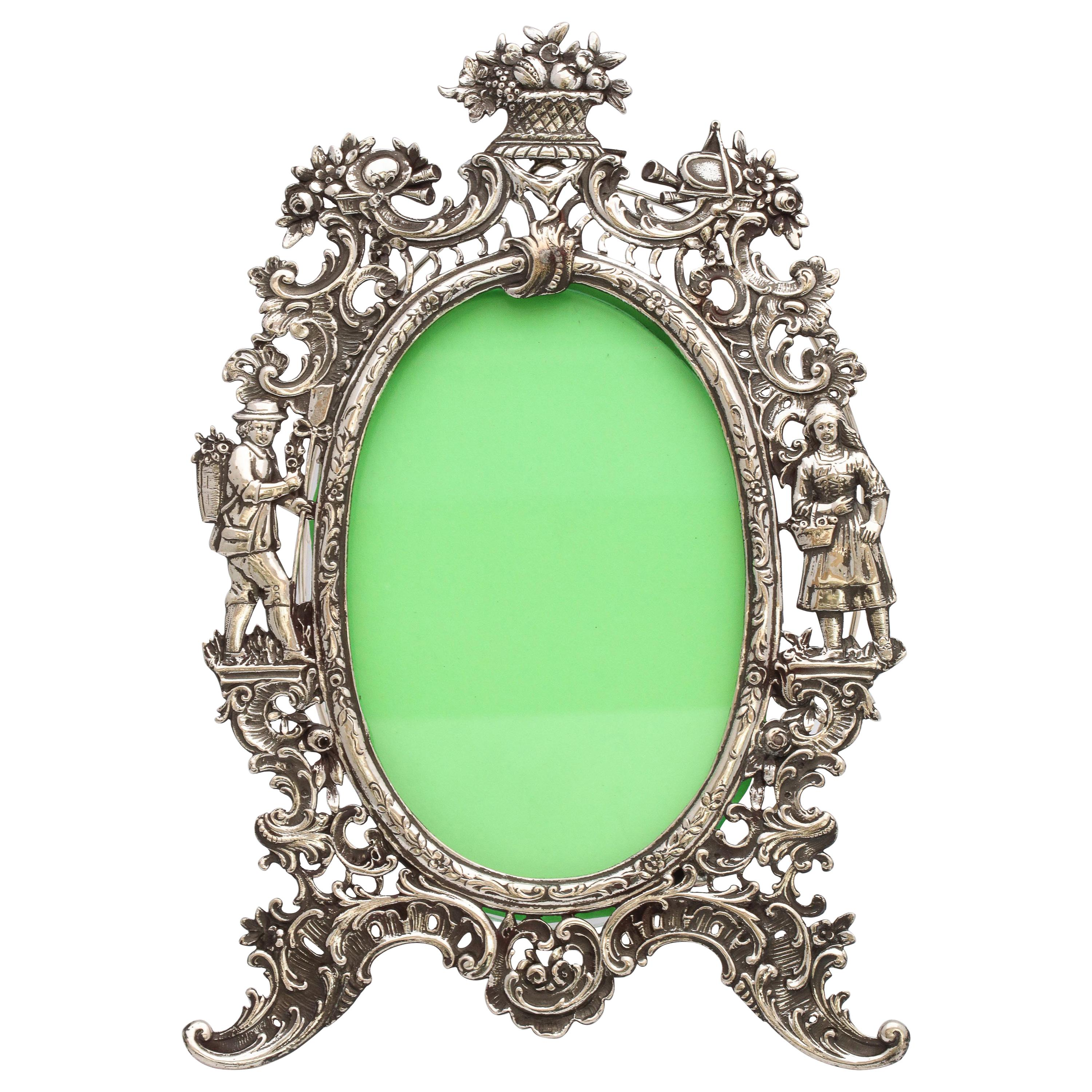 Victorian Hanau All Continental Silver '.800' Picture Frame