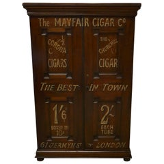 Victorian Humidor Painted for Cigar Store Display