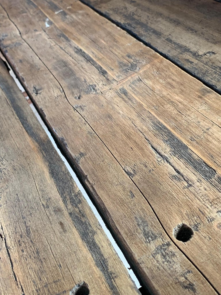 British Victorian Industrial Workbench Table, circa 1868 For Sale